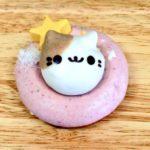 高円寺フロレスタドーナツピンク丸枠と猫