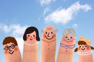 5本指と家族