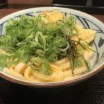 丸亀製麺の釜玉明太