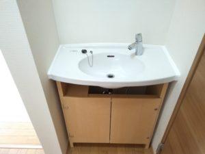 中野区賃貸アパートシェアハウス女性専用2階共用部分洗面台