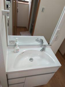 中野区賃貸アパートシェアハウス女性専用1階共用部分洗面台2