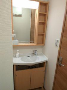 中野区賃貸アパートシェアハウス女性専用1階共用部分洗面台3