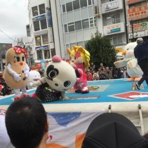 高円寺フェス2015ゆるきゃら