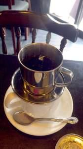高円寺つばめおこわベトナムコーヒー