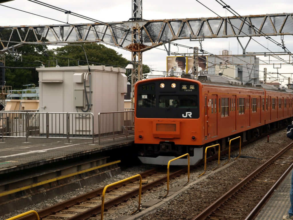 阿佐ヶ谷 電車