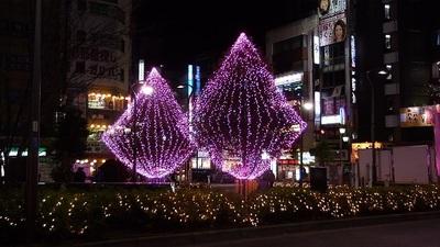 高円寺駅イルミネーション ブログ 高円寺 イルミネーション イベント 冬