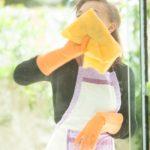 家事する女性とダイエット