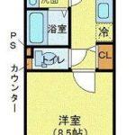 ジェノヴィア高円寺スカイガーデン 間取り(間取)