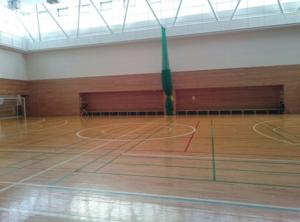 高円寺体育館 室内