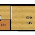牛久ハイツ 202号室 杉並区梅里1丁目 賃貸物件 新高円寺