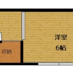 牛久ハイツ 205号室 杉並区梅里1丁目 賃貸物件 新高円寺