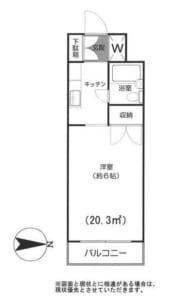 CASA池田 202号室 杉並区和田3丁目 賃貸物件 東高円寺駅 外観