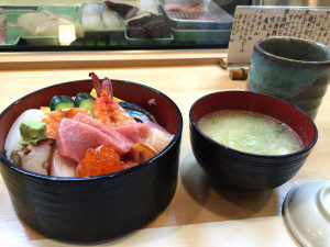 高円寺のグルメお寿司や 幸寿司のチラシ