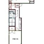 フレッシュ・ノア301号室 杉並区高円寺南2丁目 賃貸物件 新高円寺駅