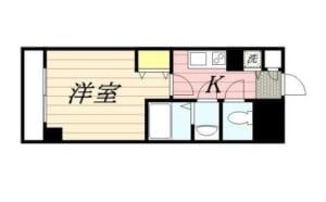メゾン・ド・ヴィレ荻窪 409号室 杉並区成田東5丁目 賃貸物件 南阿佐ヶ谷駅 間取り