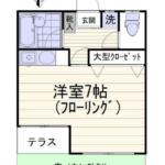 西荻窪駅徒歩7分 賃貸アパート ペット可!