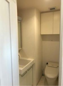 ガーデンヴィラ方南 301号室 杉並区方南2丁目 賃貸物件 トイレ 独立洗面台