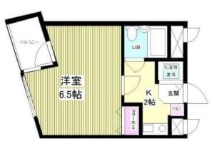 ペンシルベニヤ 3階 杉並区成田東2丁目 賃貸物件 南阿佐ヶ谷駅 間取り図