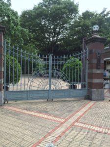 東高円寺 蚕糸の森公園正面