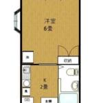 ワンアール・ナカオ 203号室 中野区大和町2丁目 賃貸物件 野方駅