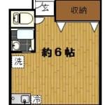 高円寺 賃貸物件 Kハウス203号室