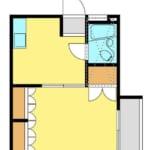 パル沼袋 206号室 中野区沼袋3丁目 賃貸物件 沼袋徒歩8分