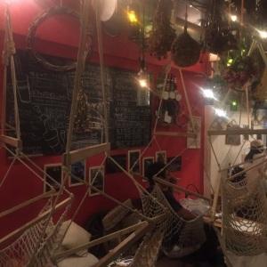 松の木食堂さん@高円寺 ハンモック