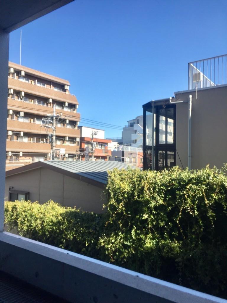 高円寺賃貸マンションMTコートベランダからの景色