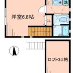 賃貸アパート シャイニーソフト高円寺 206号室 中野区大和町3丁目 高円寺駅