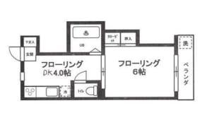パールハイツ 203号室 杉並区和田1丁目 賃貸物件 東高円寺駅 間取り図