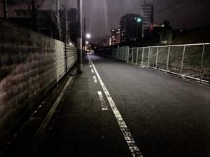 ブログ 夜道 深夜 帰宅 防犯
