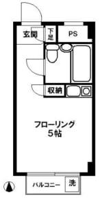 鷺ノ宮302 間取り図