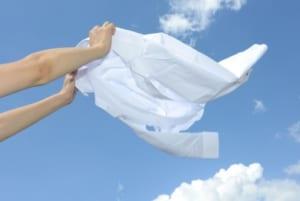 洗濯物 ブログ