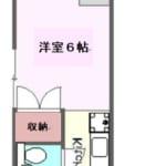 第二香川ハイツ 202号室 杉並区永福3丁目 永福町 徒歩6分