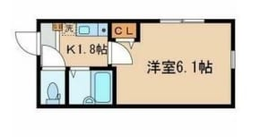リュクスカーサ中野 301号室 中野区上高田2丁目 賃貸物件 中野駅 間取り図