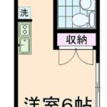 第二香川ハイツ 101号室 杉並区永福3丁目 永福町 徒歩6分