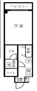 クオリティヒルズ 304号室 中野区中央1丁目 賃貸物件 中野坂上駅