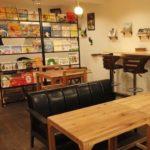 高円寺の人気グルメMucchi's cafe店内